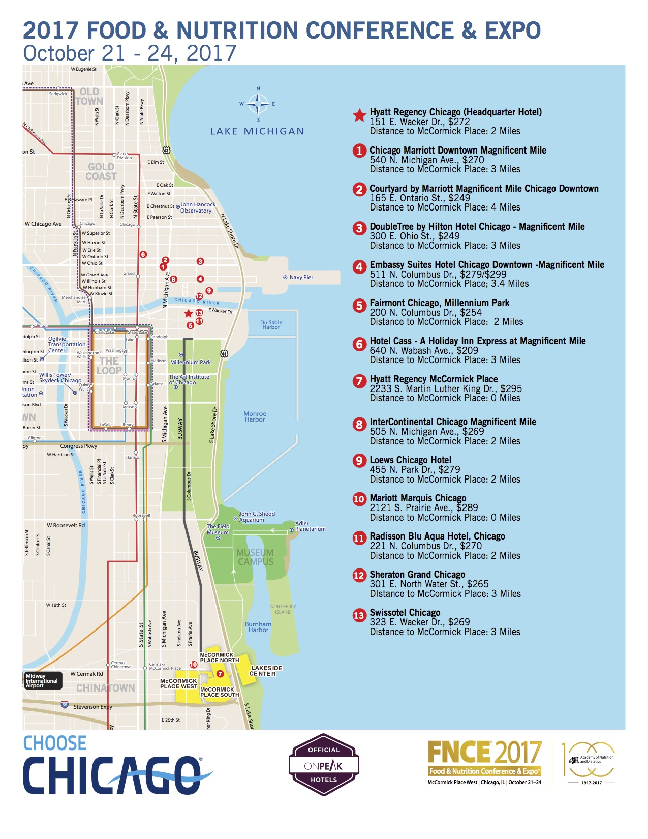 100 100 map chicago how to best chicago for Best hotel location in chicago